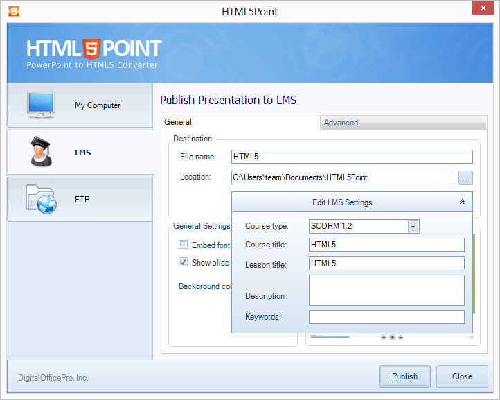 html5point lms