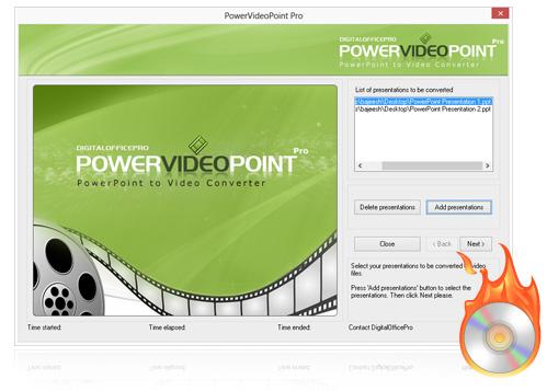 Convert Presentations to Video