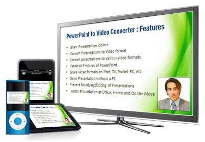 Share Video formats on iPod, TV, Pocket PC, etc.