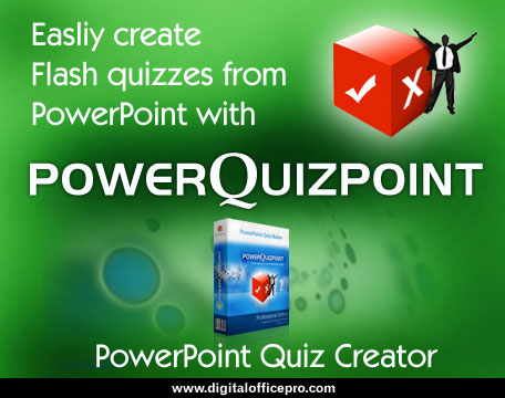 PowerQuizPoint - Quiz Creator Software Screen shot