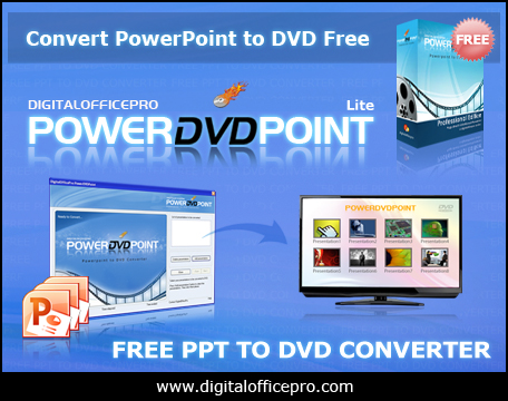 Click to view Free PowerPoint to DVD Converter 3.5 screenshot