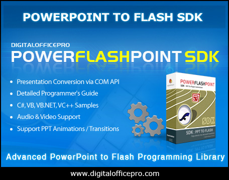 PowerFlashPoint SDK - PPT TO FLASH