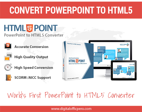 PowerPoint to HTML5 Converter 4.0