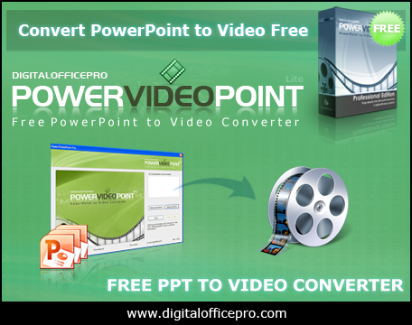 Free PowerPoint to Video Converter Screen shot