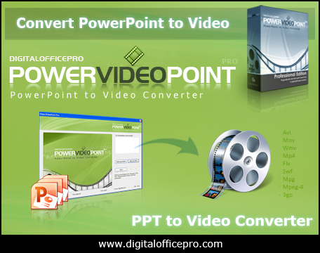 Windows 7 PowerVideoPoint - PPT to Video Converter 3.5 full